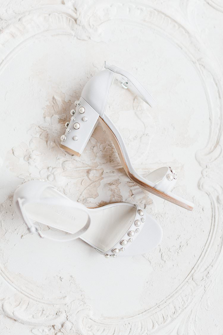 Shoes Bride Bridal Ankle Strap Block Heel Romantic Scenic Tuscany Destination Wedding http://ilariapetrucci.co.uk/