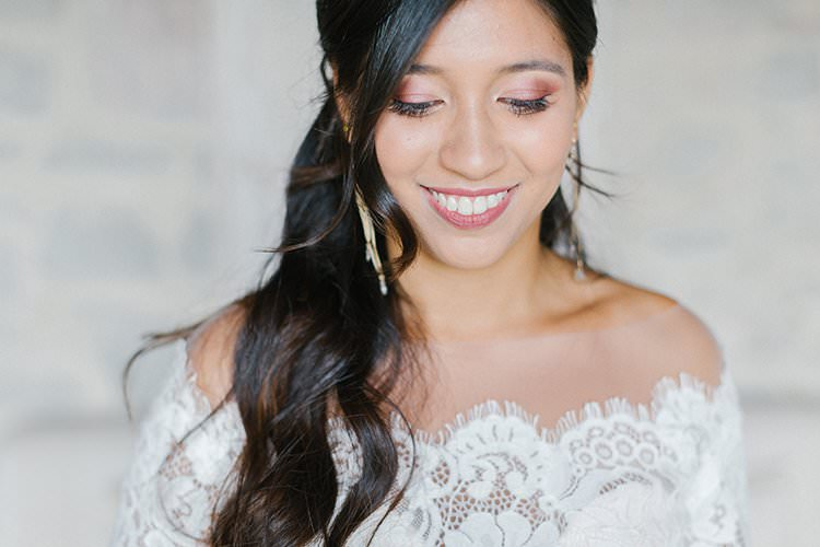 Make Up Bride Bridal Beauty Romantic Scenic Tuscany Destination Wedding http://ilariapetrucci.co.uk/