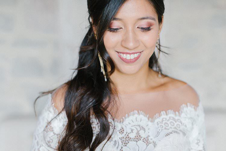 Make Up Bride Bridal Beauty Romantic Scenic Tuscany Destination Wedding http://ilariapetrucci.co.uk/