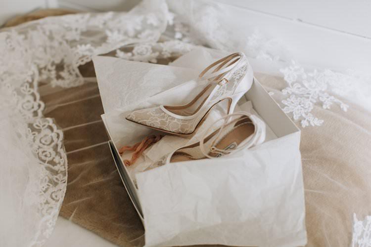 Lace Heels Shoes Oscar de la Renta Bride Ethereal Opulent Woodland Inspired Wedding http://jaynelindsay.com/