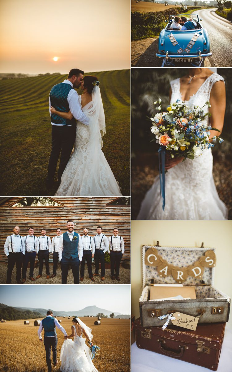 Powder Blue Country Real Wedding Ideas Inspiration Trends 2017 2018 http://photography34.co.uk/