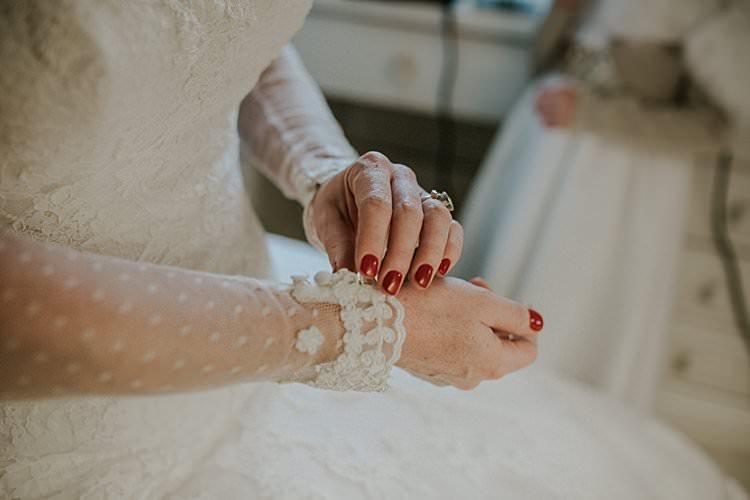 Nails Manicure Bride Bridal Traditional Christmas Wedding Red Festive https://lolarosephotography.com/