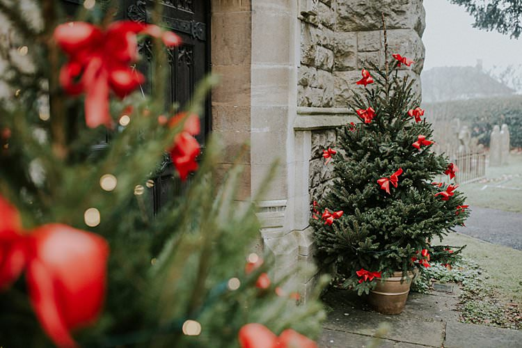 Trees Decor Traditional Christmas Wedding Red Festive https://lolarosephotography.com/