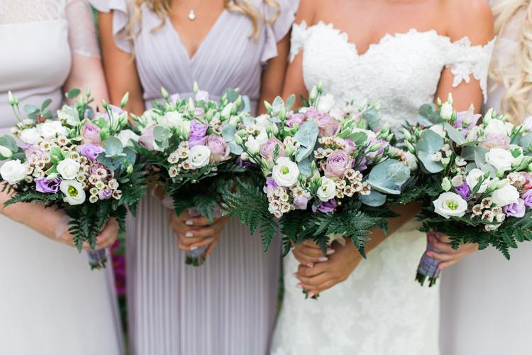 Bride Bridal Bridesmaids Bouquet Eucalyptus Pastel Wax Flower Rose Darling Hand Made Tipi Garden Wedding https://www.gemmagiorgio.com/