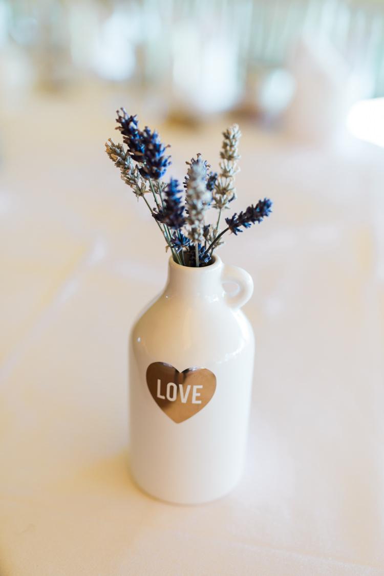 Jug Bottle Lavender Table Decoration Darling Hand Made Tipi Garden Wedding https://www.gemmagiorgio.com/