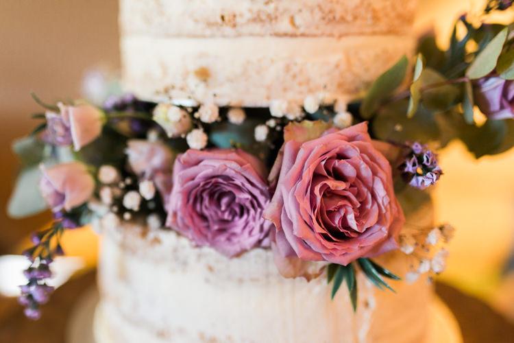 Semi Naked Buttercream Cake Rose Gypsophila Darling Hand Made Tipi Garden Wedding https://www.gemmagiorgio.com/