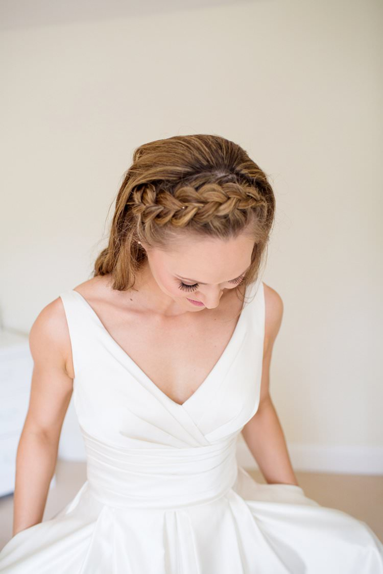 Bride Bridal Hair Plait Braid Pretty Floral Pastels Summer Wedding https://www.binkynixon.com/