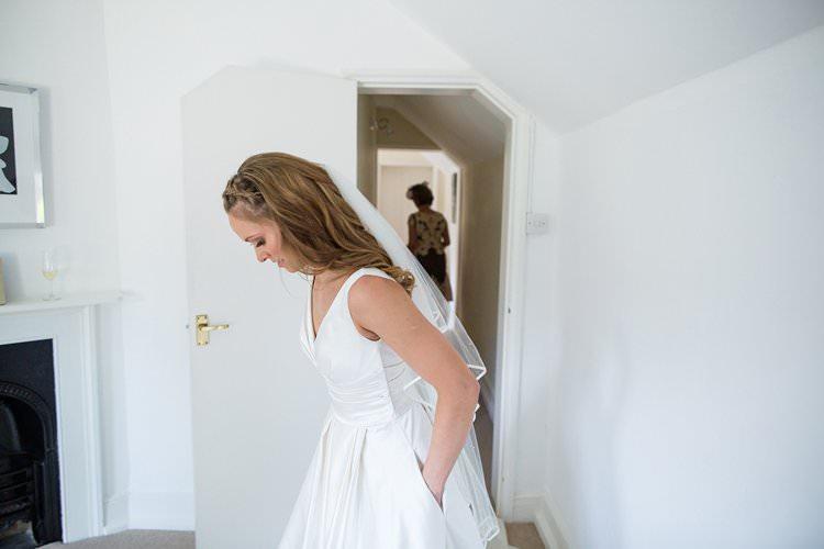 Pronovias Dress Pockets Bride Bridal Pretty Floral Pastels Summer Wedding https://www.binkynixon.com/