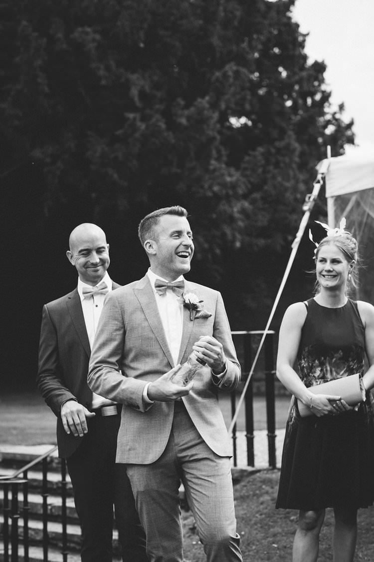 Bow Tie Groom Pretty Floral Pastels Summer Wedding https://www.binkynixon.com/