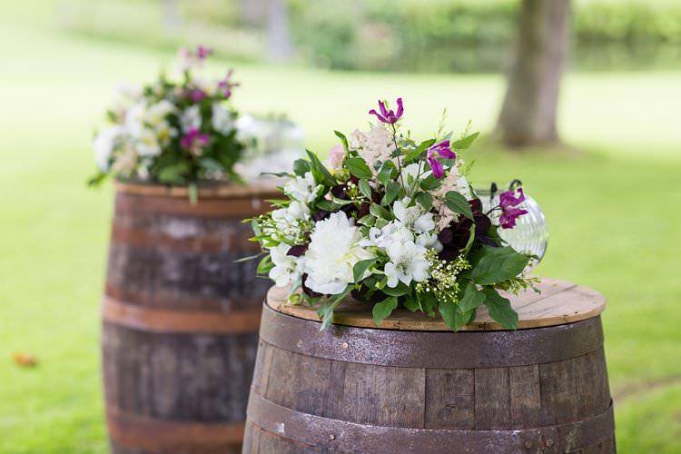 Flower Arrangements Barrell Pretty Floral Pastels Summer Wedding https://www.binkynixon.com/