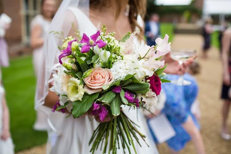 Flowers Bouquet Bride Bridal Pink White Pretty Floral Pastels Summer Wedding https://www.binkynixon.com/
