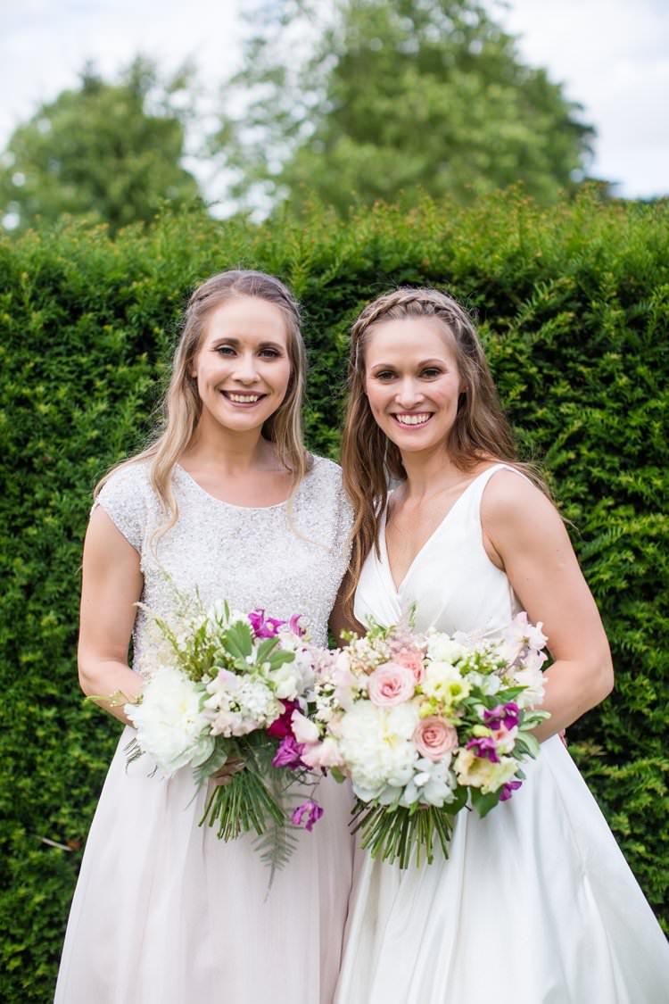 Skirt Top Bridesmaid Outfit Coast Pretty Floral Pastels Summer Wedding https://www.binkynixon.com/