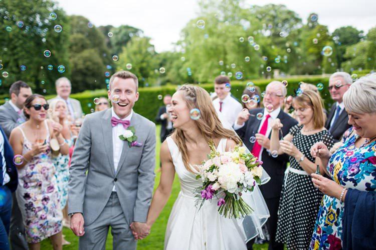 Bubbles Confetti Pretty Floral Pastels Summer Wedding https://www.binkynixon.com/
