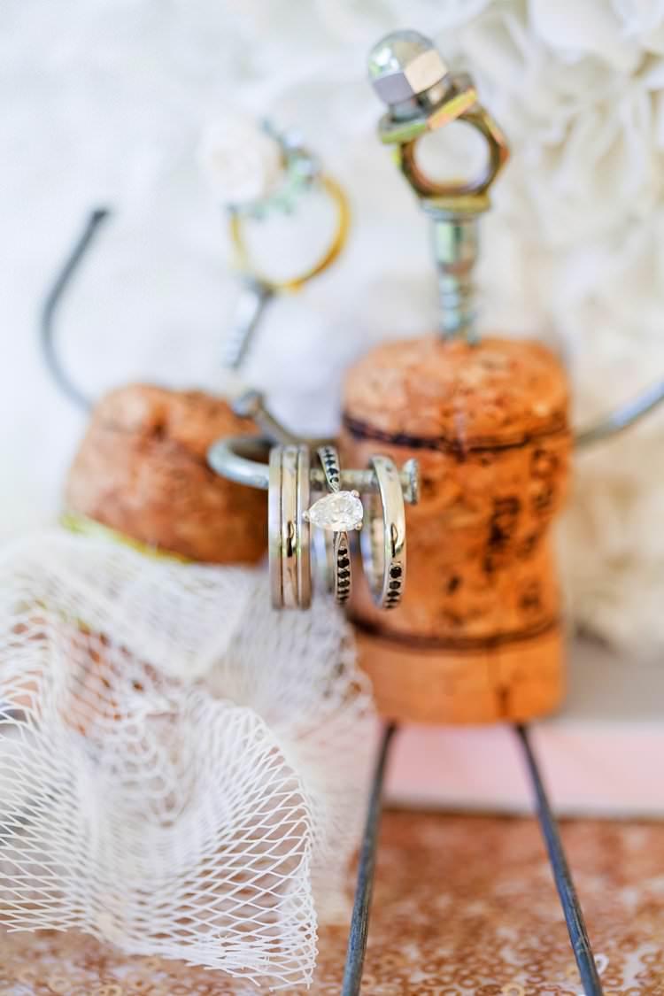 Rings Bands Diamond Pretty Floral Pastels Summer Wedding https://www.binkynixon.com/