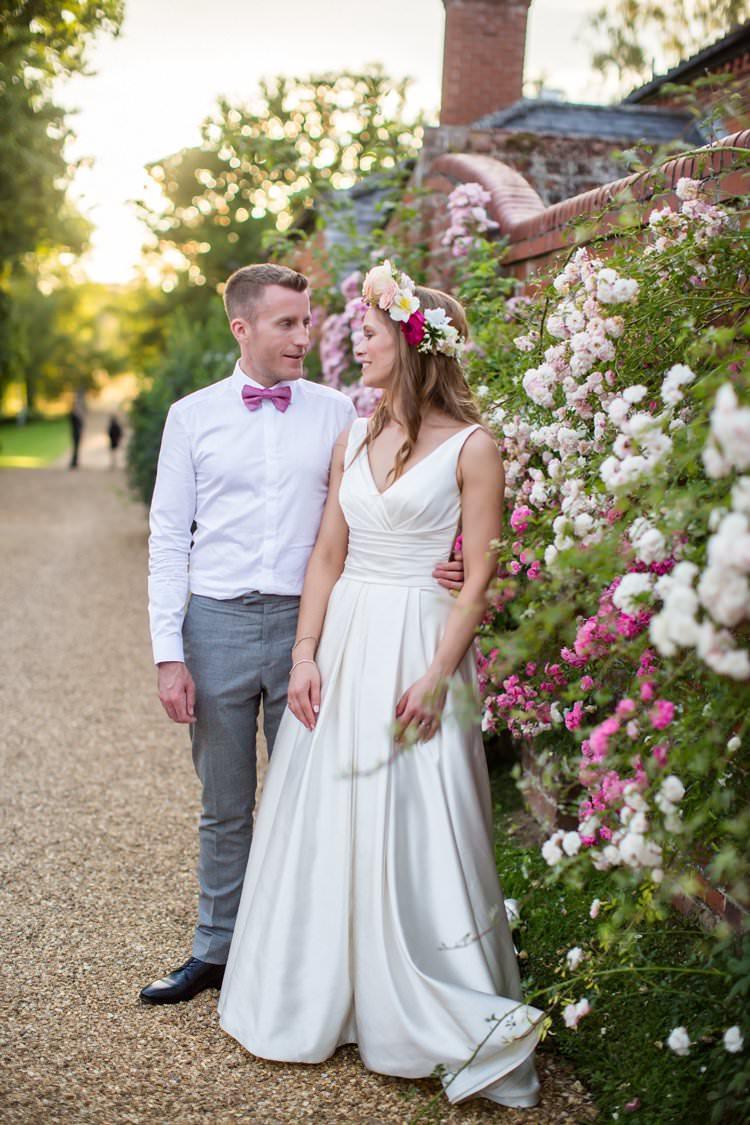 Pronovias Dress Gown Bride Bridal Pretty Floral Pastels Summer Wedding https://www.binkynixon.com/