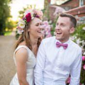 Pretty Floral Pastels Summer Wedding
