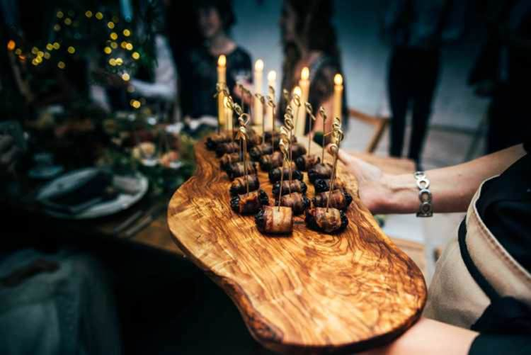 Canapes Celestial Feast Party Wedding Ideas http://www.threeflowersphotography.co.uk/