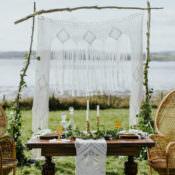 Bohemian Luxe Coastal Wedding Ideas