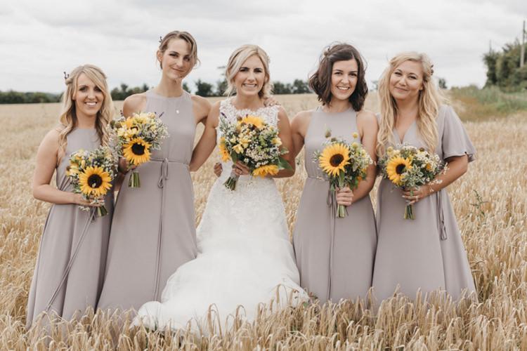 Creative Yellow Grey Barn Wedding http://www.hajley.com/