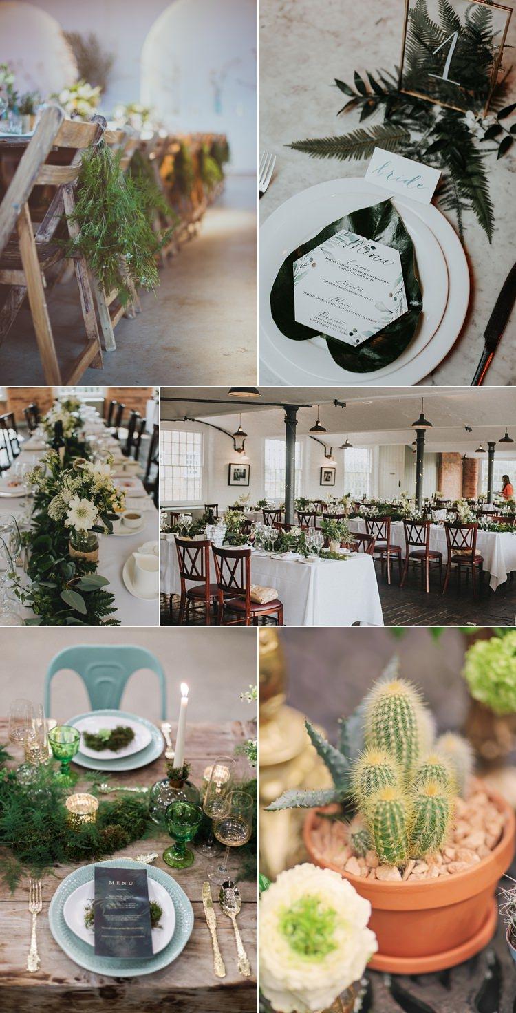 Industrial Wedding Flower Trends 2018 Ideas