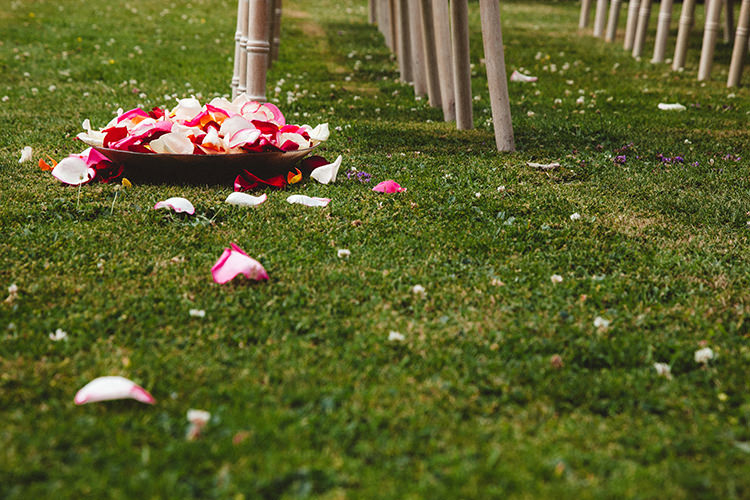 Confetti Aisle Ceremony Decor English Country Garden Wedding Colourful Indian Party https://www.maytreephotography.co.uk/