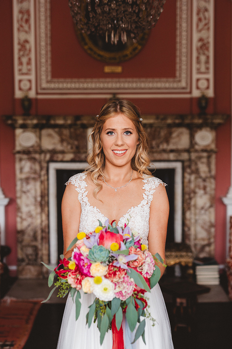 Bride Bridal Hair Make Up English Country Garden Wedding Colourful Indian Party https://www.maytreephotography.co.uk/