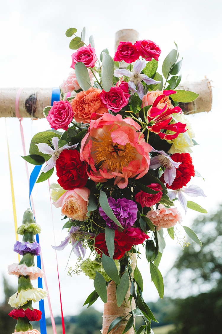 Flowers Bright Peony Succulent English Country Garden Wedding Colourful Indian Party https://www.maytreephotography.co.uk/