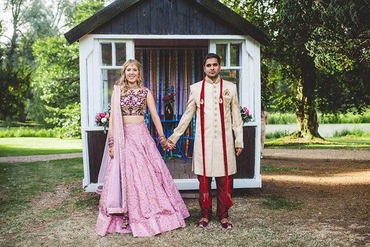 English Country Garden Wedding Colourful Indian Party https://www.maytreephotography.co.uk/