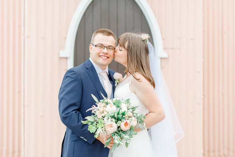 Light Airy Pretty Pastel Pink Wedding http://whitestagweddings.com/