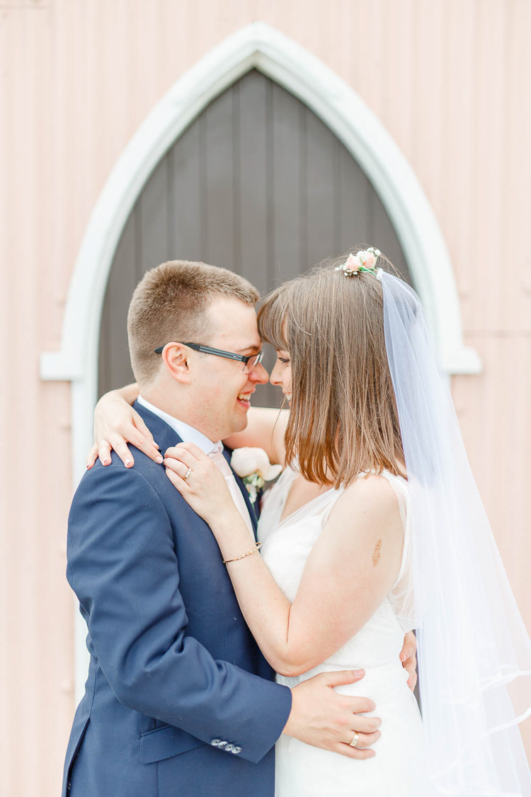 Light Airy Pretty Pastel Pink Wedding http://whitestagweddings.com/