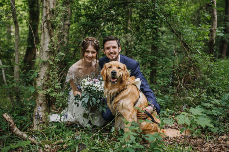 Happy DIY Woodland Wedding http://www.elliegracephotography.co.uk/