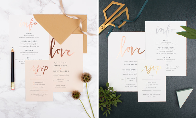 1 Wedding Invitation 10 Ways Ultimate Bespoke Stationery Rosemood Invites