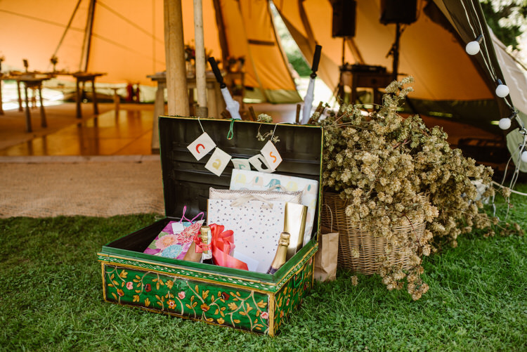 Card Box Suitcase Vegan Handfasting Summer Garden Party Wedding https://www.elliegillard.co.uk/