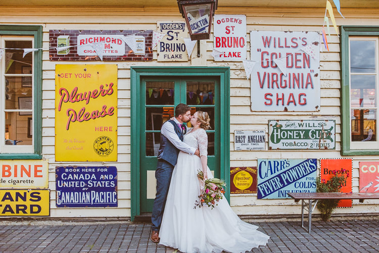 Colourful Creative Vintage Railway Wedding http://joemallenphotography.co.uk/