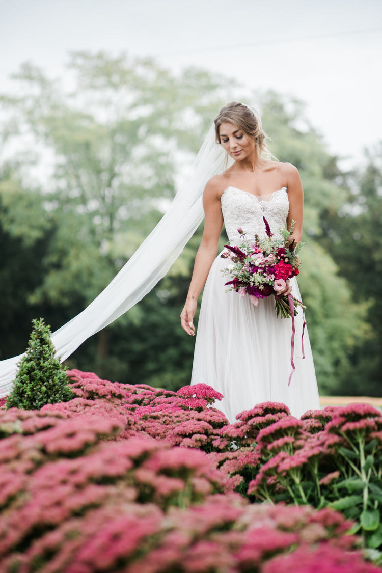 Strapless Dress Sweetheart Bride Bridal Outdoorsy Late Summer Marquee Wedding Ideas http://www.esmefletcher.com/