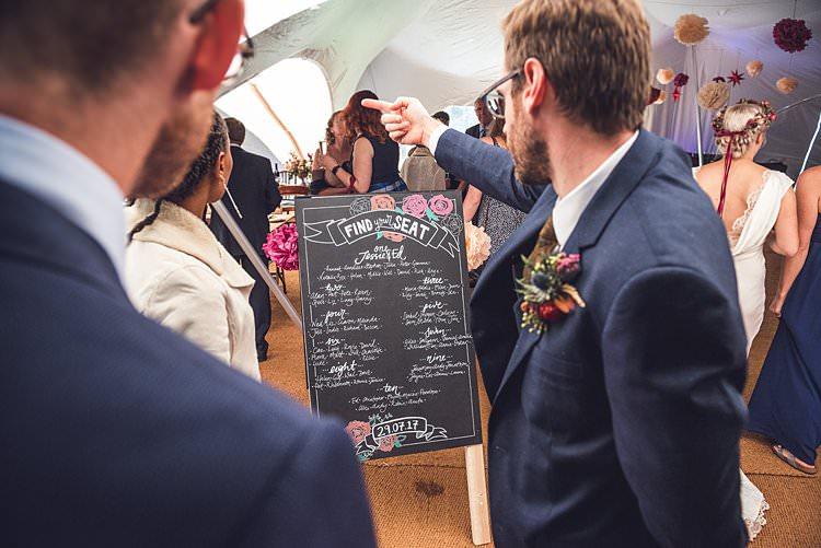 Table Plan Seating Chart Chalk Board Indie Back Garden Bespoke Party Wedding https://www.babbphoto.com/