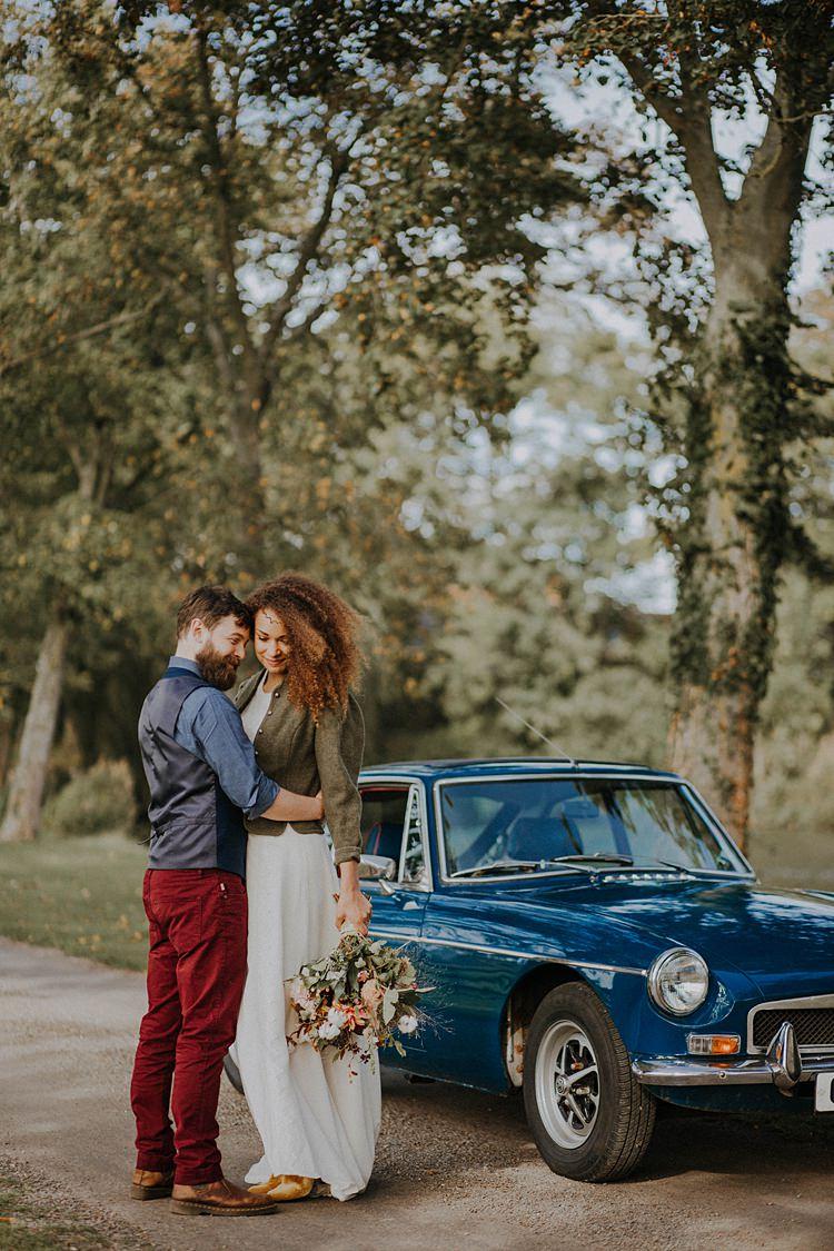 Classic Car Banquets Bonfires Autumn Wedding Ideas https://lolarosephotography.com/