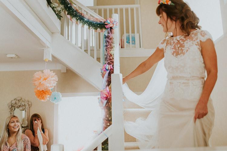 Bright Colourful DIY Back Garden Wedding http://jonnymp.com/