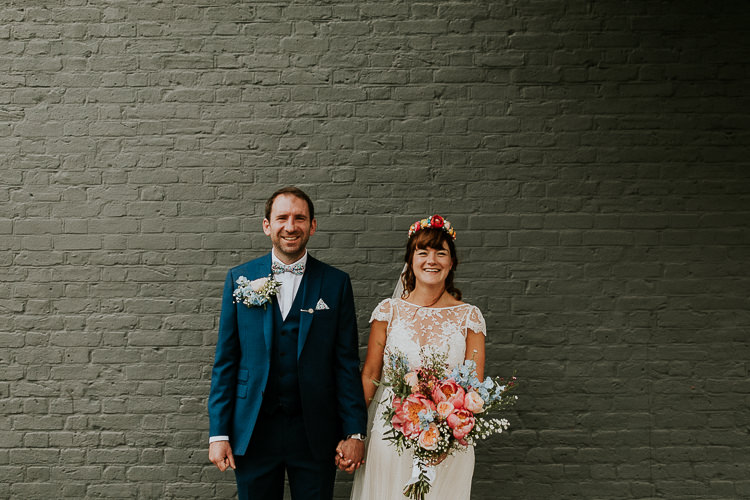 Bright Colourful DIY Back Garden Wedding http://jonnymp.com/