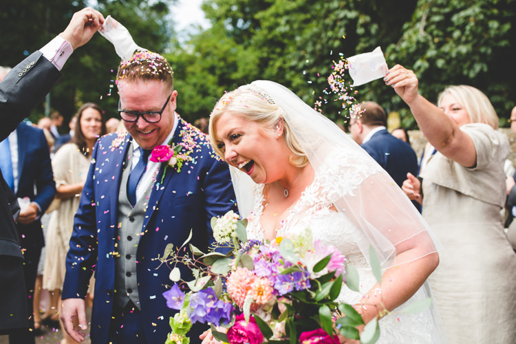 Confetti Rainbow Farm Creative Wedding http://www.livvy-hukins.co.uk/