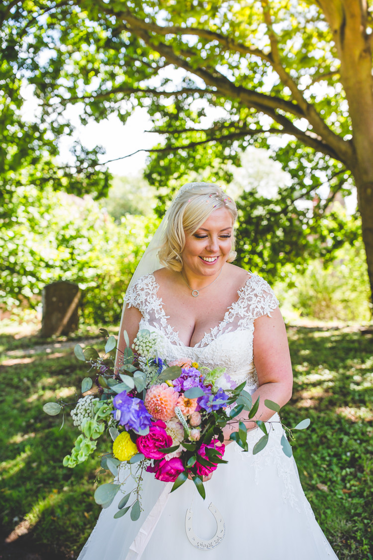 Lace Dress Gown Bride Bridal Straps Rainbow Farm Creative Wedding http://www.livvy-hukins.co.uk/
