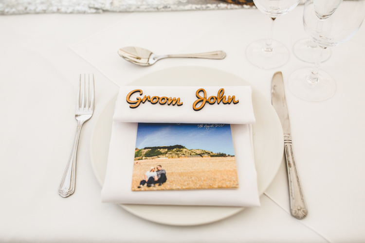 Place Name Wooden Laser Rainbow Farm Creative Wedding http://www.livvy-hukins.co.uk/