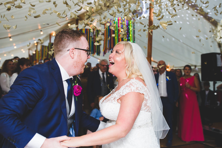 Confetti Dance Rainbow Farm Creative Wedding http://www.livvy-hukins.co.uk/