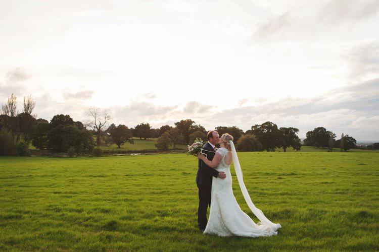 Bridal Bride Dress Gown Veil V Neck Keyhole Backless Lace Reiss Groom Elegant DIY Country Manor Wedding http://www.bengoode.com/