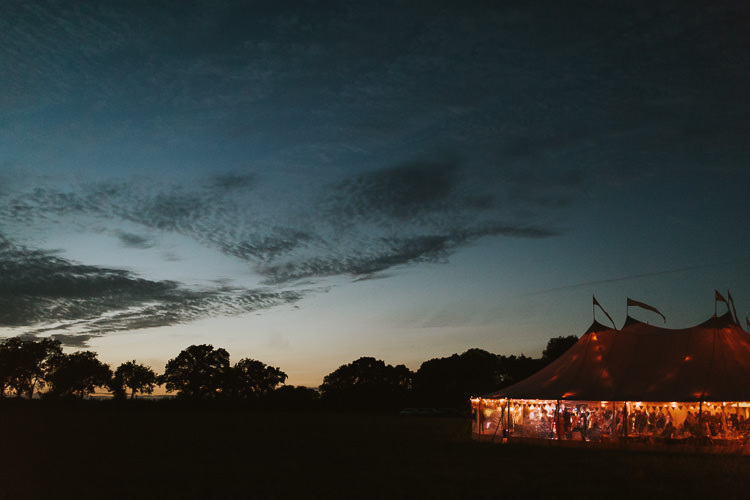 Lighting Sperry Tent Marquee Farm Wedding http://www.paulunderhill.com/