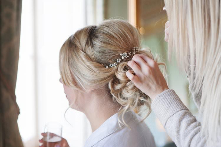 Elegant DIY Country Manor Wedding http://www.bengoode.com/