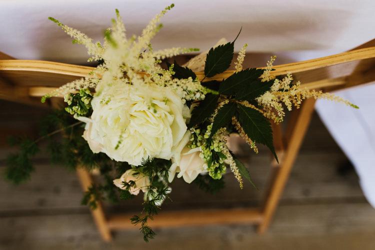 Chair Flowers Backs Decor Fun Town Hall Countryside Gardens Cat Wedding http://www.allymphotography.com/