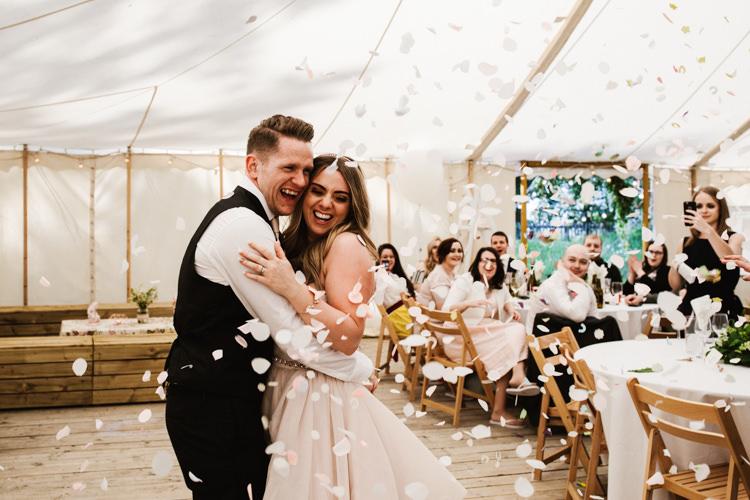 Confetti First Dance Fun Town Hall Countryside Gardens Cat Wedding http://www.allymphotography.com/