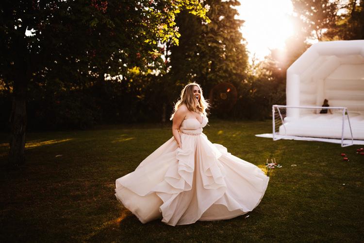 Martina Liana Dress Gown Bride Bridal Fun Town Hall Countryside Gardens Cat Wedding http://www.allymphotography.com/