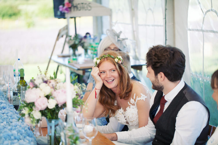 Relaxed Lavender Farm Marquee Wedding https://sashaleephotography.com/